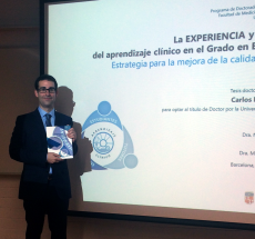 El professor Carlos Nebot obté el títol de Doctor