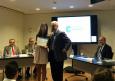 Claudia Nasarre Antón, estudiant del Campus Docent, rep una beca de la Fundació Corachan
