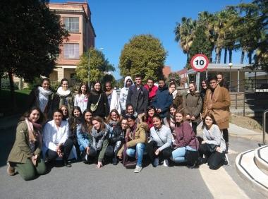 Salida De 1º De Tcae Al Parc Sanitari Sant Joan De Deu Campus